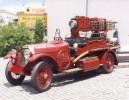 Lancia 1917 :: Umas das relíquias automóvel a A. H. B. V. Penafiel - Lancia 1917 (a circular) (fotografias tiradas no 128º aniversário da Associação em Julho de 2009